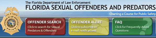 Sexual Offenders And Predators City of Tampa