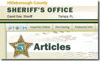 Hillsborough County Sheriff's Office - New Hillsborough County Crime Map
