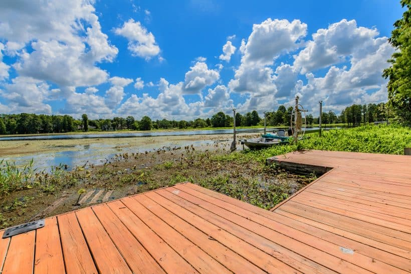 Boat Dock on Hillsborough River