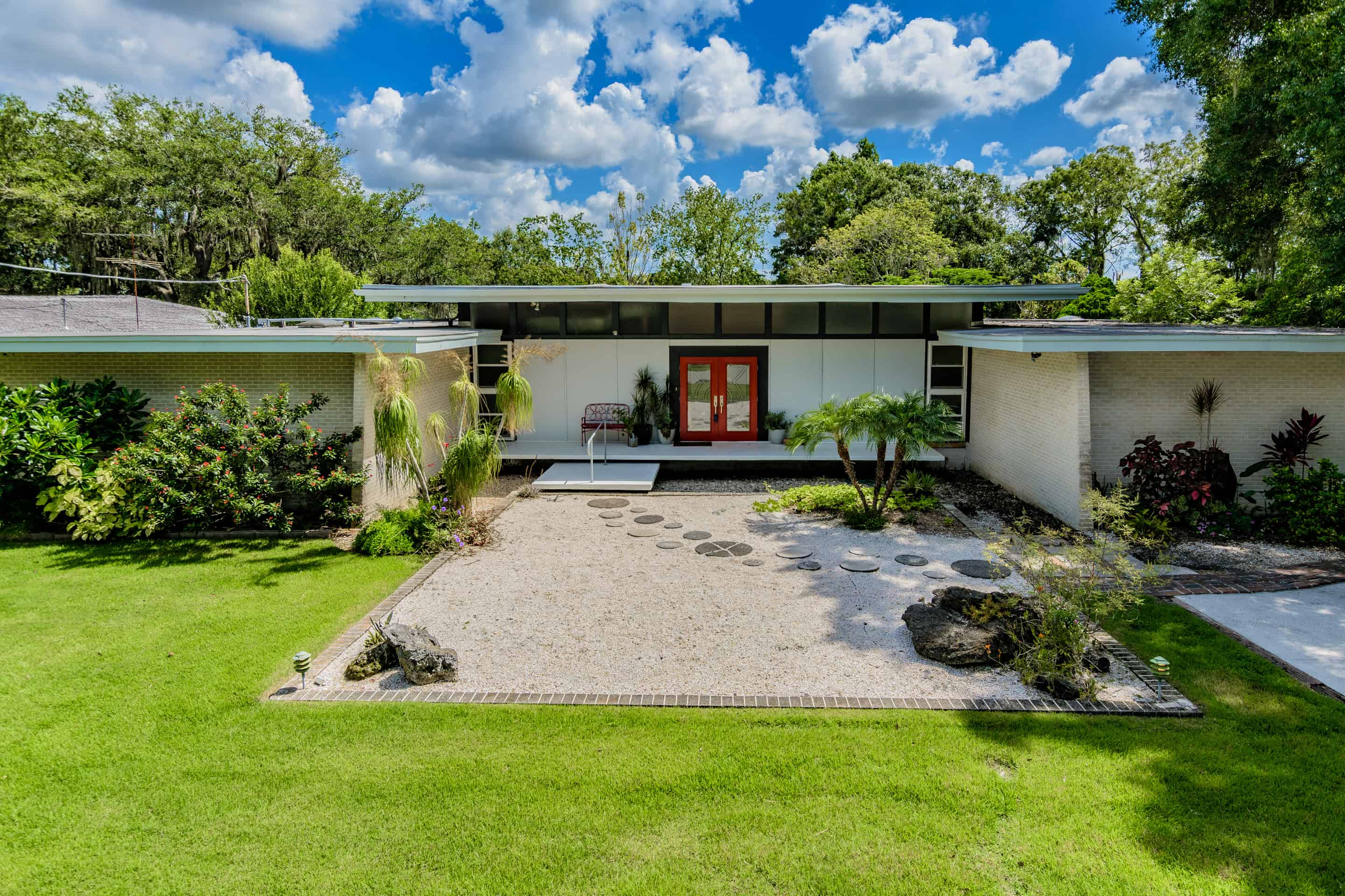 Frank Depasquale Mid Century Home On The River In Tampa on New Homes Dana Point