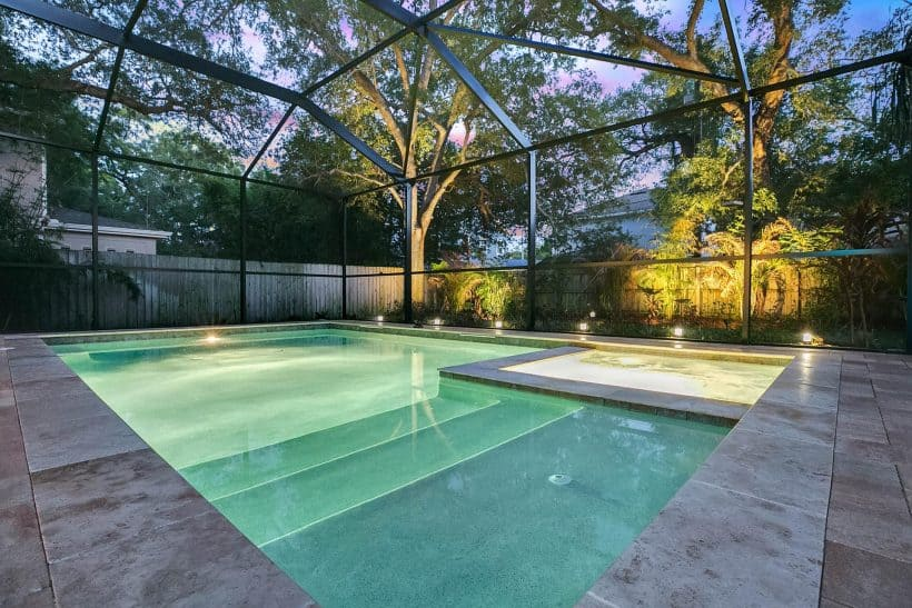 Pool Home South Tampa