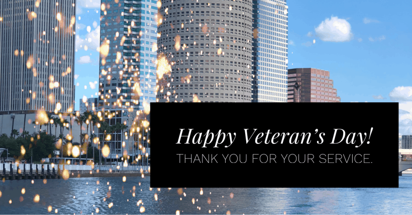 Veterans Retiring in Tampa Fl