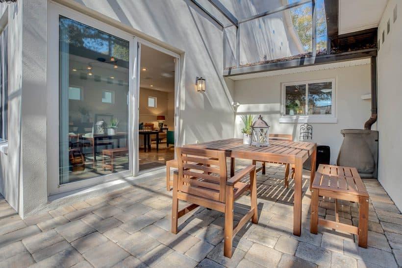 Shade Deck Outdoor Entertainment Area